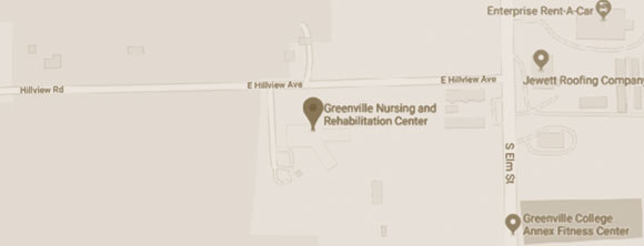 WLC Management Firm Greenville Nursing & Rehabilitation Center Map