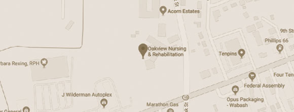 WLC Management Firm Oakview Nursing And Rehabilitation Map
